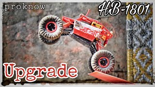 How to upgrade HB - P1803B 1/18 4WD Rock Crawler RC Car|Super powerful|Proknow