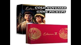 Cold November Game Pickups