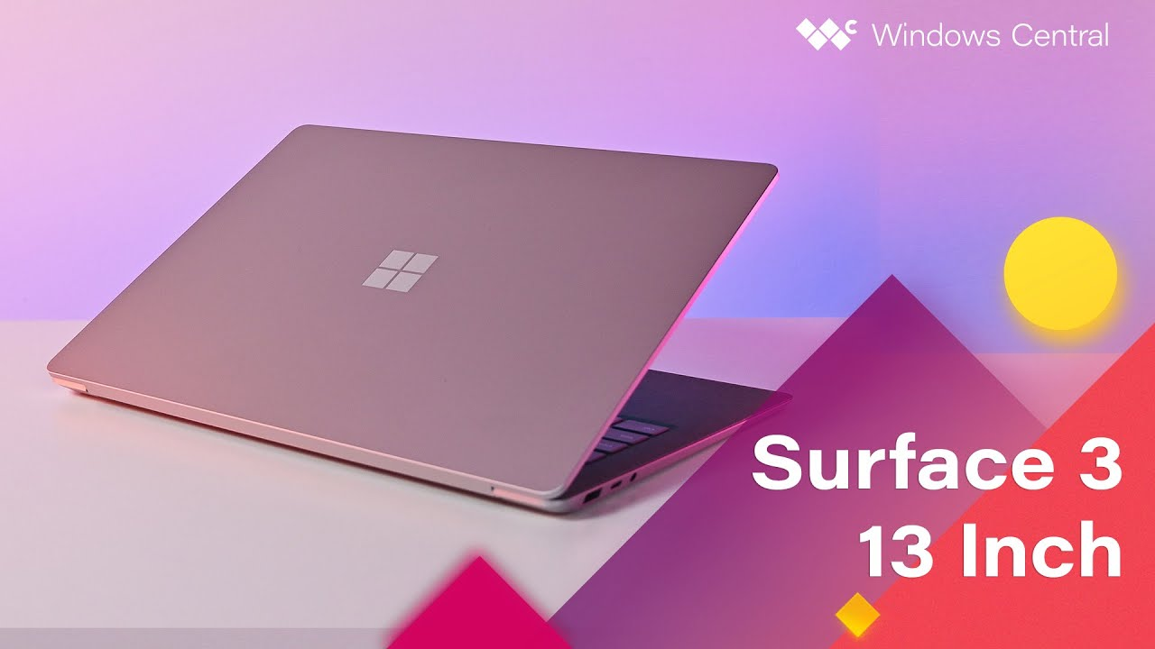 Surface Laptop 3 - 13.5 Review: A delightful laptop - YouTube