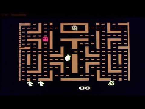 Atari 2600 Pac-man, Ms. Pac-man, and Jr. Pac-man reviews.