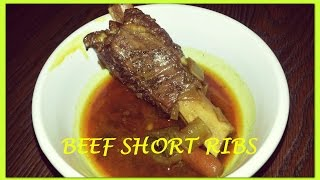 Beef Short Ribs Using A Pressure Cooker Fast And Easy