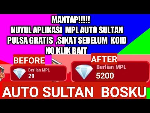 Viral Cara Nuyul Berlian Mpl Auto Sultan Gopay Aplikasi Penghasil Pulsa Gratis2019 By Sultan Aisya