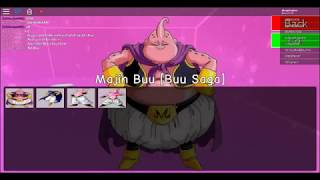 Roblox Dragon Ball Z Rage Rebirth Buu Saga