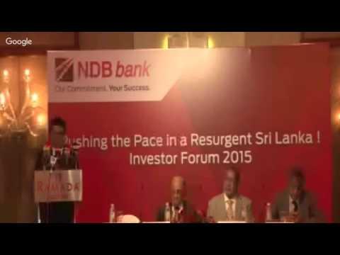 NDB Investor Forum 2015