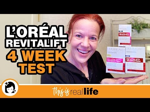 l'oréal-revitalift-4-week-test-video---this-is-real-life
