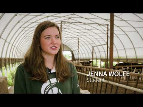 Agricultural Operations at MSU IAT/ Montcalm Community College