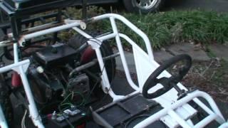 Monster 800cc Go Kart - Engine Test 1