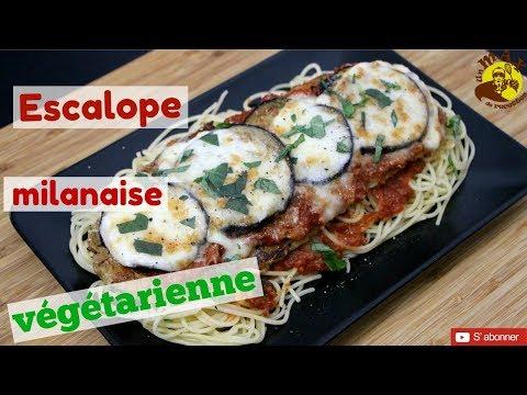 Escalope Milanaise végétarienne BLUFFANTE! 😱😱😱  recette végétarienne gourmande