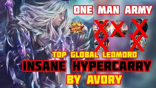 Insane Carry By Leomord! Offlane Gameplay [Top Global Leomord] Avory - Mobile Legends #1