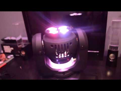 REVIEW - Double Face moving Head Beam/Wash Cree LED Light