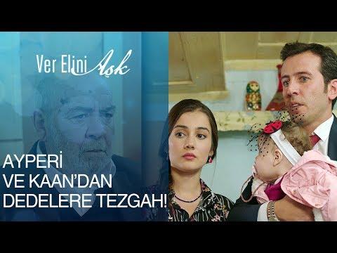 Ver Elini Aşk 8. Bölüm - Ayperi ve Kaan'dan dedelere büyük tezgah!