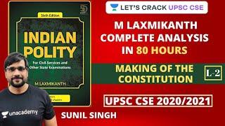 L2: M Laxmikanth Complete Analysis in 80 Hours | UPSC CSE 2020/2021 | Sunil Kumar Singh