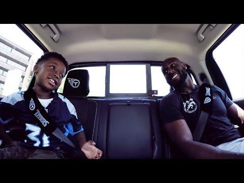 Nissan's Ride with a Titan: LB Rashaan Evans