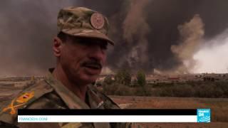 Фильм о наступлении иракской армии на Мосул. Русский перевод.