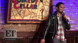 Aziz Ansari Returns To The Stage