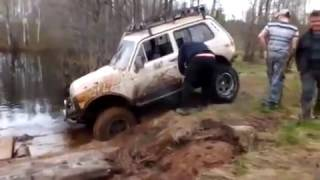 Off Road 4x4 Extreme. Оторвало мост Нива тр 3