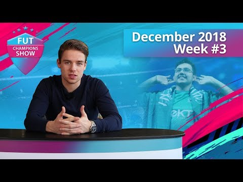MSDOSSARY'S ANNUAL WIN HAS ARRIVED! | FUT CHAMPIONS SHOW DECEMBER WEEK 3