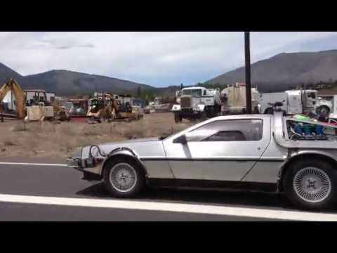 GoPro: Racing the DeLorean from Back to the Future!