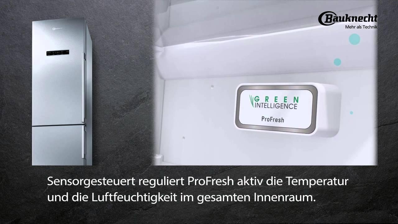 Kühlschrank Hygiene Filter : Bauknecht profresh kühlschrank youtube