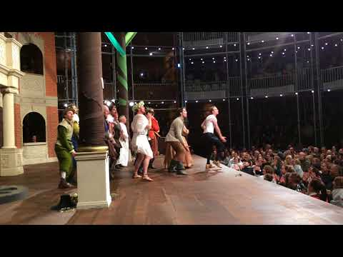 As You Like It Jig and Epilogue - Pop-up Globe Melbourne 2017