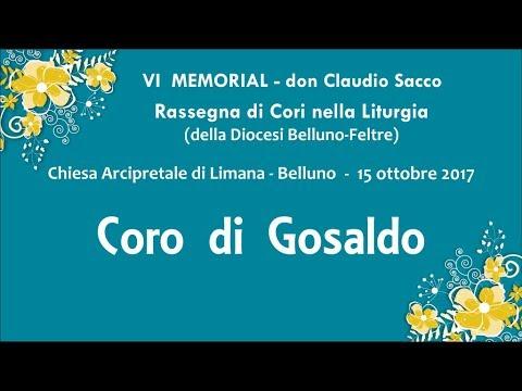 VI MEMORIAL don Claudio Sacco Sonador - Rassegna di Cori nella Liturgia