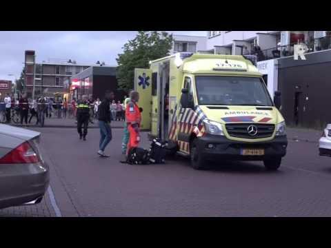 Schietpartij aan de Reigerlaan in Capelle aan den IJssel.   Beelden: Video Duivestein