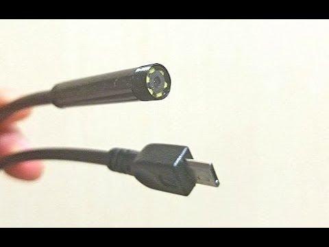 USB Эндоскоп работает от Android телефона