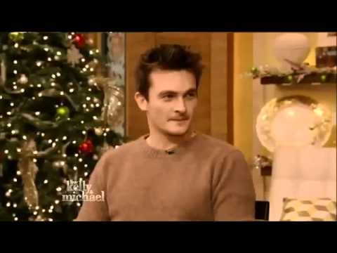 RUPERT FRIEND  Live with Kelly and Michael