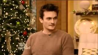 RUPERT FRIEND Interview Live with Kelly and Michael