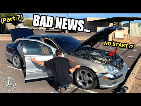 More BAD NEWS For The $850 V12 Mercedes S600! Salvage Rebuil