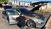 More BAD NEWS For The $850 V12 Mercedes S600! Salvage Rebuild (Part 7)