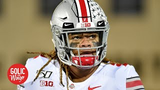 The Ncaa Sent A Message With Chase Young's 2 Game Suspension   Kirk Herbstreit | Golic And Wingo