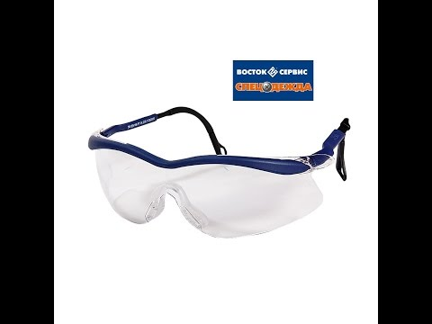 Очки для работы и респиратор от пыли