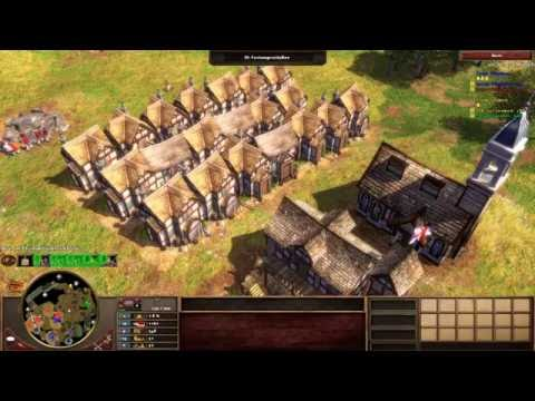 Age of Empires III - Indianer gegen Kolonialherren #1 - Multiplayer Gameplay Deutsch