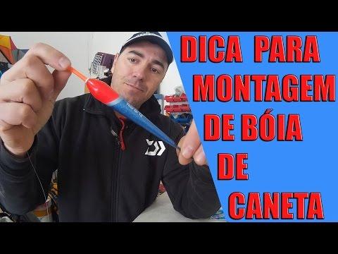 DICA PARA MONTAGEM DE BÓIA DE CANETA