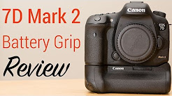 Canon 7D Mark II Battery Grip BG-E16 Review & Unboxing