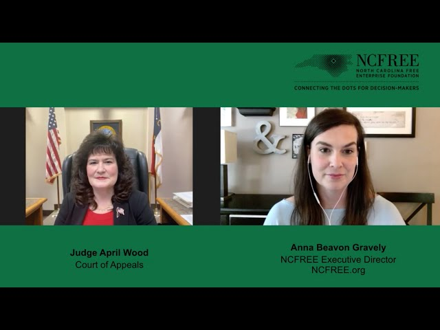 NCFREE Judicial Interview - Judge April Wood - Court of Appeals Seat 4