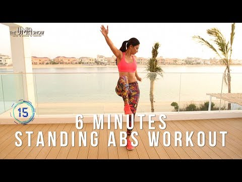 6 Minutes Standing Abs Workout