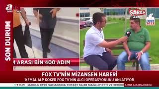 Fox TV'nin Mersin Şehir Hastanesi ile ilgili yalan haberine konu olan vatandaş gerçekleri anlattı