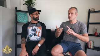 WMP #1 Giovanni Bartolomeo on Grounding Camp, Psyched Out documentary   Wiggert Meerman Podcast