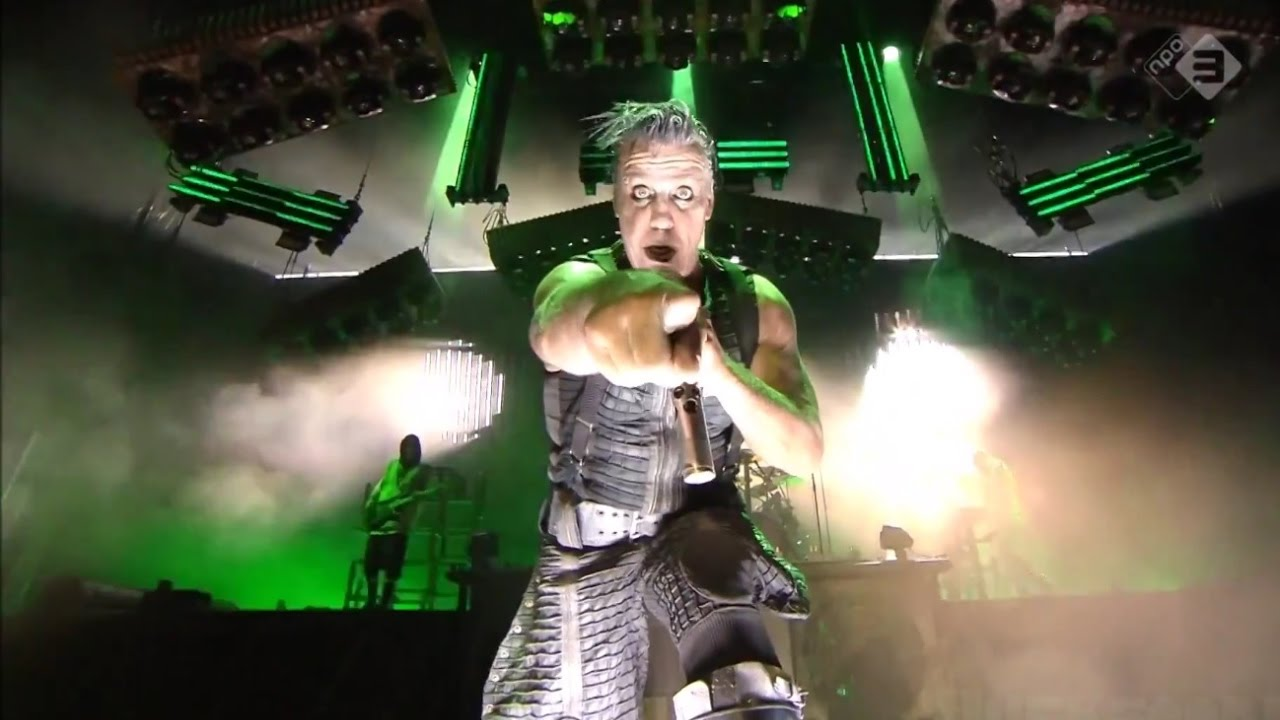 Download Rammstein - Du Riechst So Gut (Pinkpop Festival 2016) PROSHOT HD [GER/ENG/RU/ES/FR]