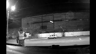 Ночная погоня за пьяным в Иркутске