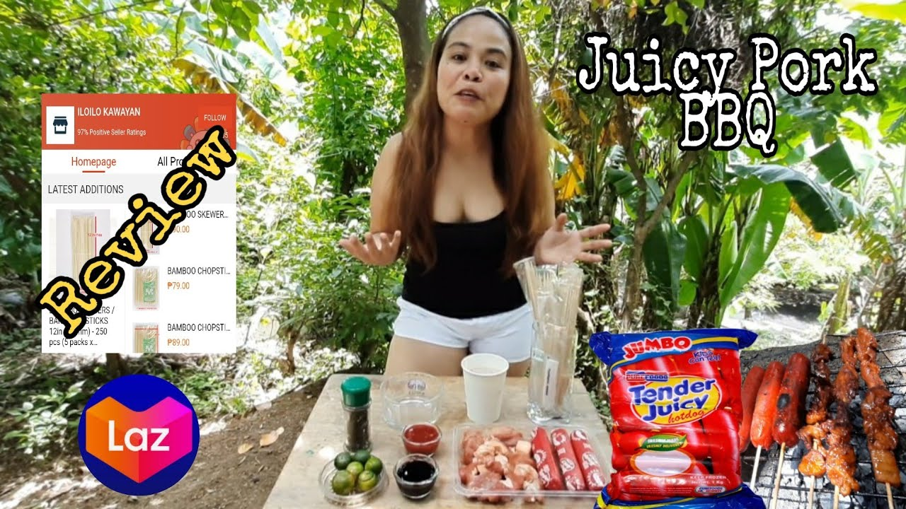 Juicy Pork BBQ + Purefoods Hotdog | By Jaja G!