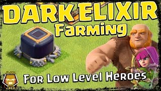 Farm Dark Elixir Fast! Best Hero Upgrade Strategy | Clash of Clans