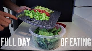Full Day of Eating | Professional Footballer
