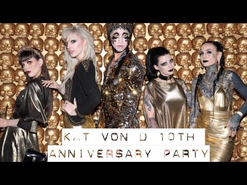 KAT VON D Beauty 10th Anniversary Party