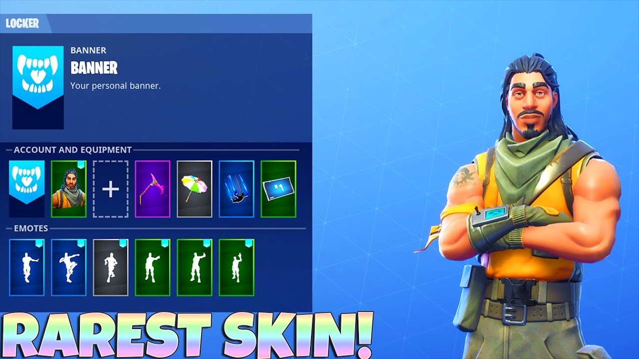 Epic Games Fortnite Tracker Fortnite Cheats Rar - the rarest fortnite skin tracker showcase epic games fortnite tracker