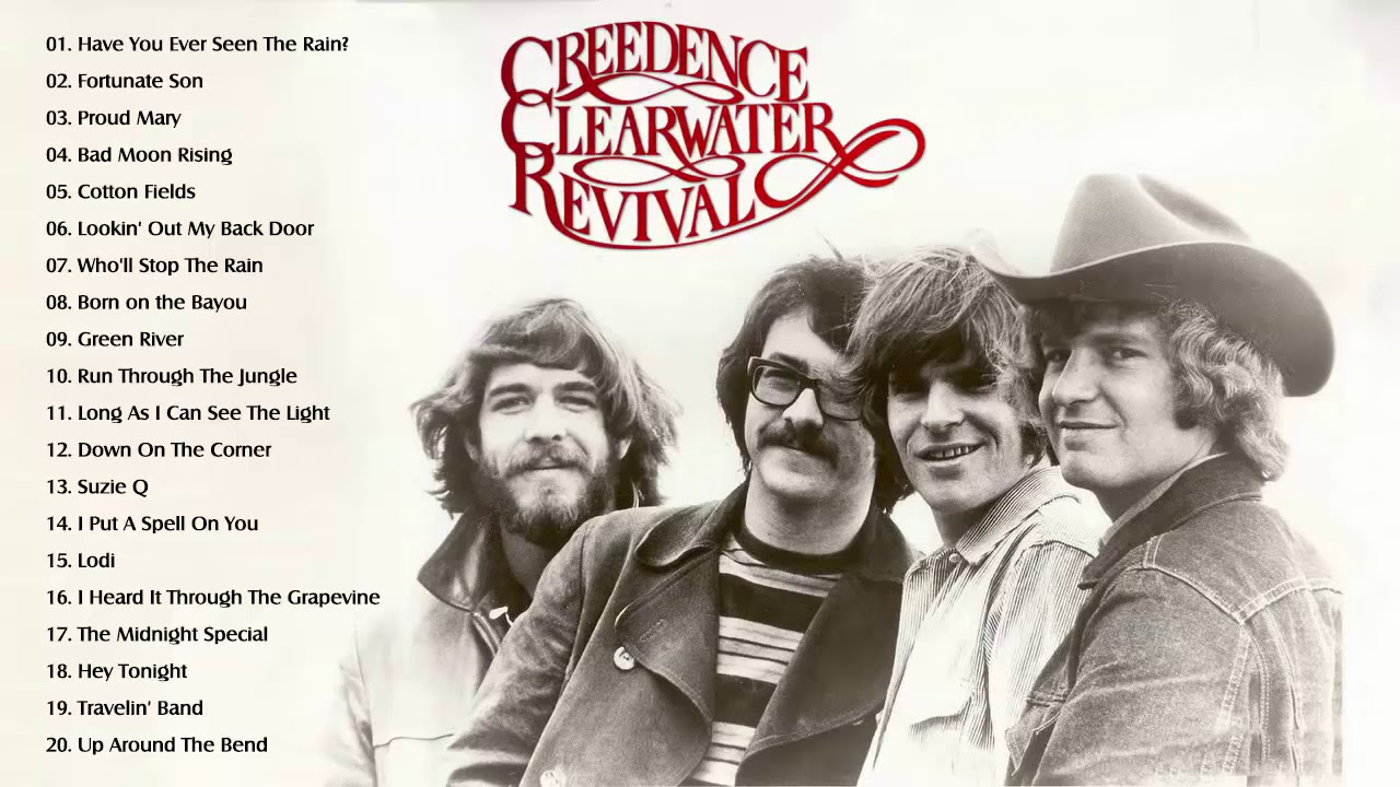 The Best of CCR   Greatest Hits Full Album HQ