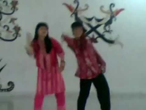Hikayat Cinta by Glenn Fredly & Dewi Persik (Lipsync) - duo maut math 2009.flv