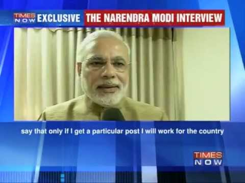 TIMES NOW Exclusive: Narendra Modi Interview